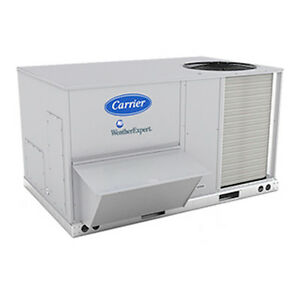 New Carrier 5 Ton Rooftop Unit Model 48kcea06a2a6 Installed For Only 5 900 00