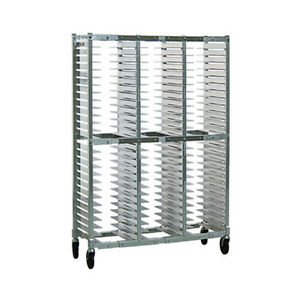 New Age Ns596a Counter Height Open Sides Pizza Pan Rack W 78 Pan Capacity