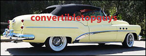 Buick Super Roadmaster Convertible Top Do It Yourself Package 1953