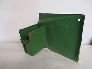 John Deere M Mt Tractor Original Battery Cover Toolbox
