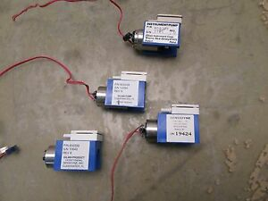 Lot Of 4x Sensidyne Gilian 900339 Air Pump Portescap Motor 3 f 18