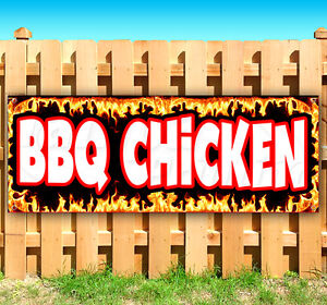Bbq Chicken Advertising Vinyl Banner Flag Sign Many Sizes Fair Carnival Food