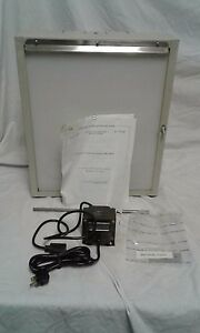 New Brenner X ray Film Illuminator Fi 0212 W transformer Table Or Wall Mount