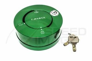 Nrg Steering Wheel Green Lock Key For Quick Release Anti Theft Srk 101gn