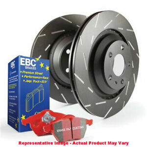 Ebc Brake Kit S4 Redstuff And Usr Rotors S4kf1670 Fits jeep 1999 2000 Cher