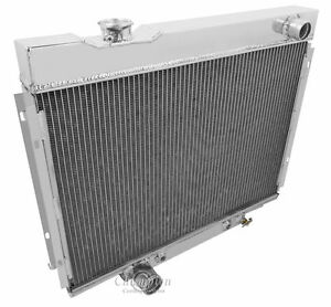 1967 1968 1969 Ford Ranchero 3 Row Aluminum Champion Wr Radiator Cc2379