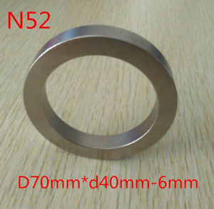 New Ring Huge Neodymium Ring Magnet Upgraded Super Strong N52 Rare Earth Magnet