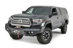 Warn 100927 In Stock Ascent Front Winch Bumper 16 19 Toyota Tacoma