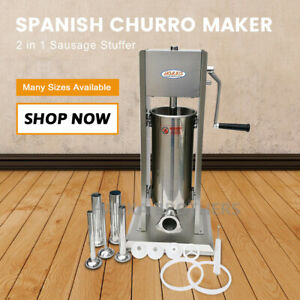 Hakka 2 In 1 Sausage Stuffer And Spanish Churro Maker Machines 11lb 5l