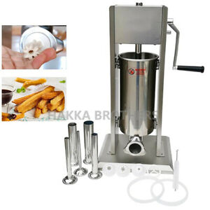 Hakka 2 In 1 Sausage Stuffer And Spanish Churro Maker Machines 15lb 7l