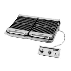 Wells B 506 36 Wide Electric Built in Charbroiler