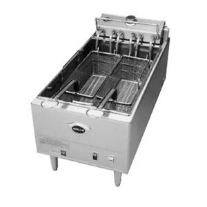 Wells F 1725 Electric Single Pot Countertop Fryer W 40 Lb Capacity