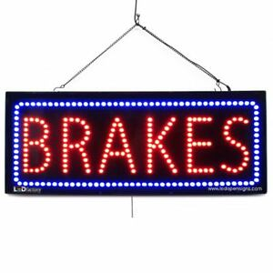 High Quality Large Led Open Signs Brakes 13 x32 Led Factory 2572