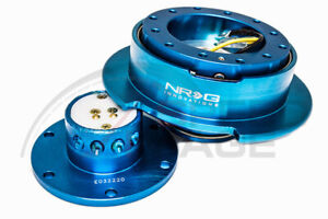 Nrg Steering Wheel Gen 2 5 Quick Release New Blue Body Ring Srk 250nb Flare