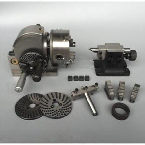Bs 1 Semi universal Dividing Head With 6 3 jaw Chuck