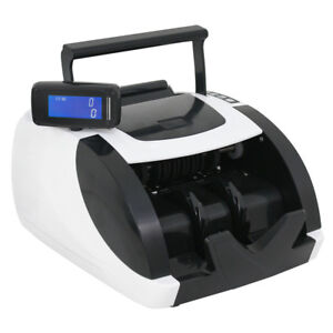 Money Bill Cash Counter Bank Currency Counting Machine Uv Mg Ir Counterfeit