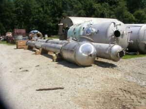 Stainless Steel Distillation Column 22 Dia X 40 5 Rated200 fvpsi 325 49 Degf