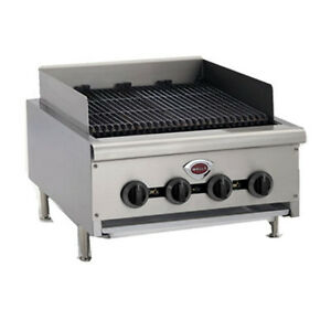 Wells Hdcb 2430g 24 Wide Natural Gas Countertop Charbroiler