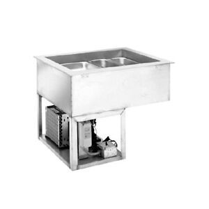 Wells Hrcp 7400 4 Pan Size Electric Drop In Hot cold Food Well