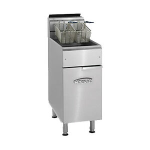 Imperial Ifs 40 Full Pot Gas Fryer With 40 Lb Capacity