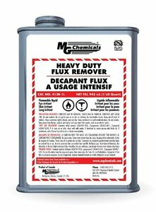 Mg Chemicals Heavy Duty Flux Remover Liquid 1 Quart Can