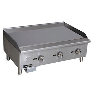 Black Diamond Standard Series Gas Griddle 36 Stainless Steel Bdectg 36 ng New