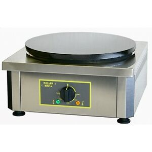Equipex 350e 13 75 Single Crepe Maker W Cast Iron Plate 208v 1ph