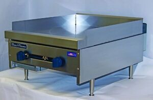 New Blue Flame Natural Gas Countertop 3 4 Thick Flat Top Griddle Bfmg Grill