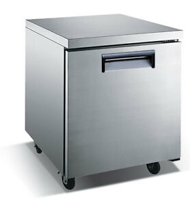 U star Undercounter Freezer 27 Wide 6 25 Cu Ft Adcraft Usucfz 27