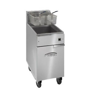 Imperial Ifs 50 e Full Pot Fryer With Electrical Elements 50 Lb Capacity