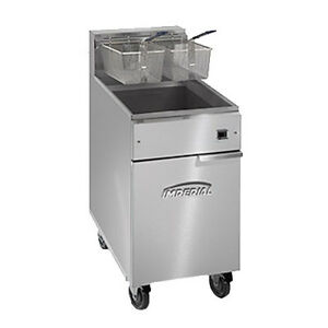 Imperial Ifs 75 e Full Pot Fryer With Electrical Elements 75 Lb Capacity