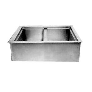 Wells Icp 200 Drop in Iced Cold Food Pan non refrigerated W 2 Pan Capacity