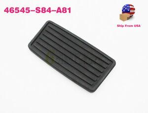 Oem Automatic Brake Pedal Pad Rubber Cover For Honda Acura 46545 S84 A81
