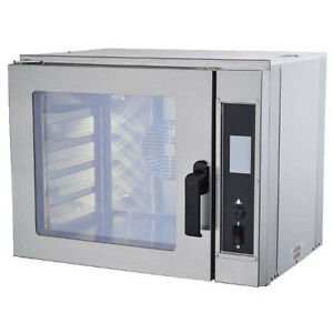Nu vu Ncot5 Electric Countertop Oven With Two Speed Fan 208 Volts