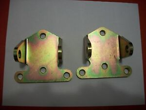 Small Block Chevy Solid Steel Motor Mounts 1 Pair 561 62500 Moroso 2 1 8 Tall