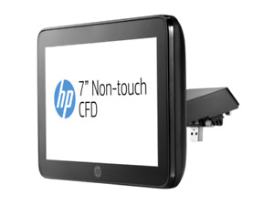 Hp Rp9 Integrated 7in Non touch Customer facing Display With Arm p5a56aa