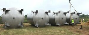 15 000 Gallon Vertical Stainless Steel Agitated Mix Tank Beer Wine Juice Etc