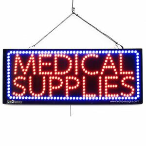 High Quality Large Led Open Signs medical Supplies 13x32 Led factory 2613