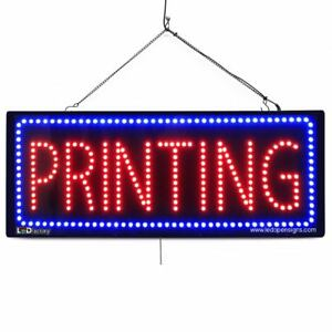 High Quality Large Led Open Signs Printing 13x32 Led factory 2629