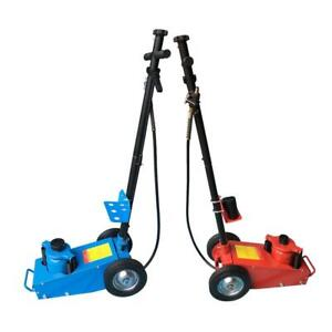 22 Ton Air Hydraulic Bottle Floor Jack Truck Cars Repair Lifting Tool Blue red