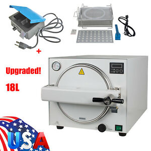 Dental Autoclave Steam Sterilizer Medical Sterilizition Analog Wax Heater Pot