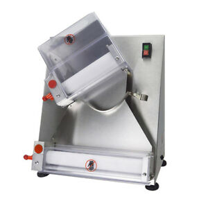 Semi automatic And Electric Pizza Dough Roller sheeter Making Machine 15