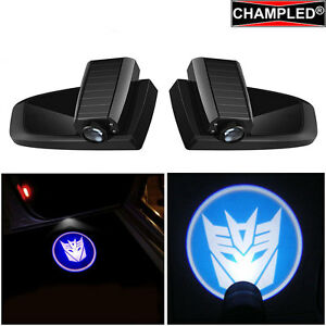 Champled Transformer Led Door Wireless Projector Logo Shadow Lights Emblem Car