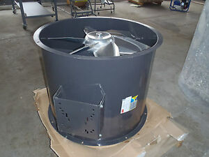 34 Tubeaxial Belt Driven Fan Steel Housing