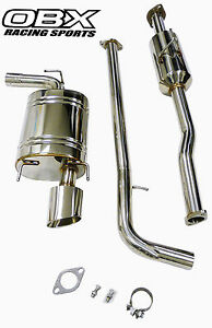 Obx Catback Exhaust For 2007 To 2011 Toyota Camry Trd Style 4cyl 2 4l 2 5l
