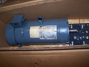 Magnetek 2 Hp Variable Speed Dc Motor 145tc Frame 180 Vdc 1750 Rpm Tefc