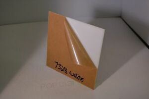 White Plexiglass Acrylic Sheet Color 7328 1 2 X 24 X 24