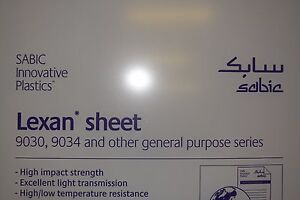 Polycarbonate Lexan Sheet Clear 1 2 X 36 X 36