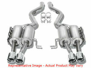 Borla Touring Cat back Exhaust 140638 Dual Split Rear Fits toyota 2014 201