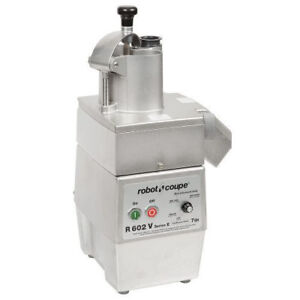 Robot Coupe R602vc Continuous Feed Food Processor With 3 Hp Motor